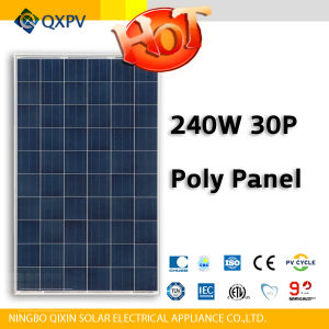 30V 240W Poly Solar Panel pictures & photos