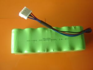 14.4V 3500mAh Ni-MH Rechargeable Battery Pack (KBL-3500) pictures & photos