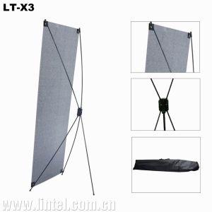 60*160cm Fiberglass Pole Portable X Banner Stands (LT-X3) pictures & photos