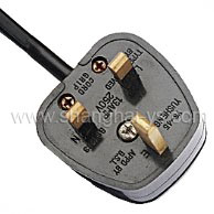 Certificated Power Cord Plug for British (YS-45) pictures & photos