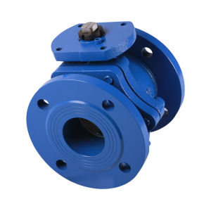 Cast Iron Ball Valve, Flanged Type, DIN Pn16 pictures & photos