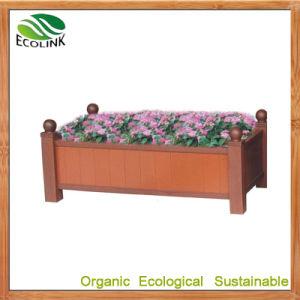 Rectangular WPC Flowerpot for Outdoor Garden Decoration (EB-82955) pictures & photos