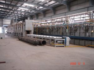 Roller Hearth Tempering Furnace for Gas Cylinder pictures & photos