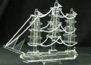 Crystal Table Decoration Dragon Boat Mould (JD-MX-013) pictures & photos