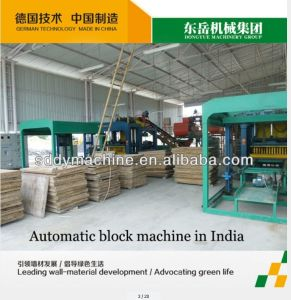 Dongyue Brick Making Machine Qt4-15c Automatic Hollow Cement Brick Mold Machine pictures & photos