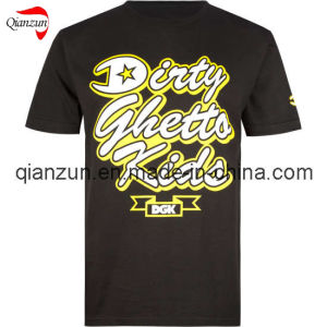 New Black Printing T-Shirts pictures & photos