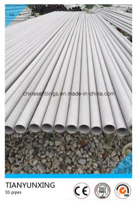 Seamless Hot Rolled Round Stainless Steel Pipes pictures & photos