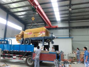 Manual Concrete Pump (HBTS30-10-56R)