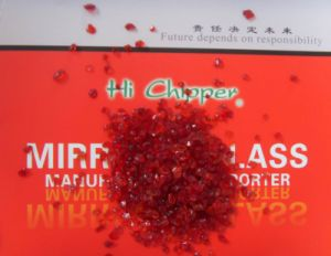 Red Glass Granule pictures & photos