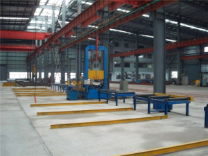 Assembling-Standing Machine for Steel H Beam Production Line pictures & photos
