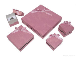 Promotional Paper Gift Jewelry Box (YY-J001) pictures & photos