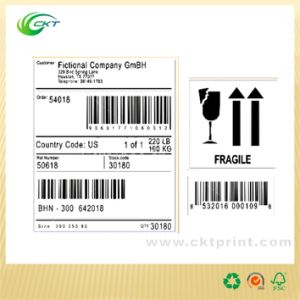Self Adhesive Stickers Barode Labels (CKT-LA-425)