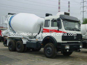 8CBM Beiben (North Benz) Concrete Mixer Truck (ND5257GJBZ)