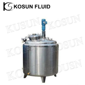 100L 300L 500L 1000L Stainless Steel Heating Jacketed Paste Cream Batch Pasteurizer pictures & photos