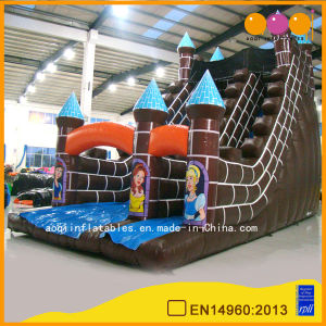 Blown Inflatable Castle Slide for Sale (AQ903) pictures & photos