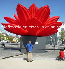 6m Gaint Opening Inflatable Flowers for Wedding