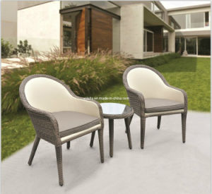 Decent Marine PU Leather Outdoor Rattan Chair pictures & photos