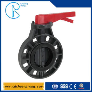 Plastic One Way Butterfly Valve pictures & photos