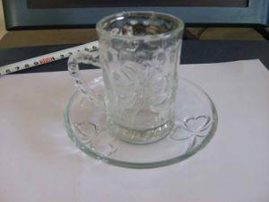 Glass Cup with Handle / Coffee Cup