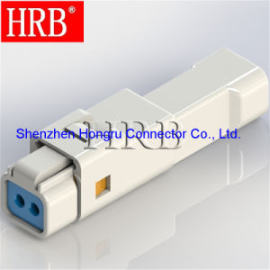 Waterproof IP67 Wire to Wire 2 Pins Automotive Connector pictures & photos