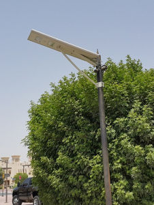 40 Watts Outdoor City Garden All in One Solar Street Light pictures & photos