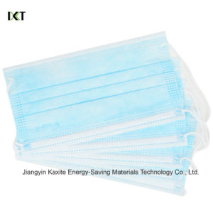 Surgical Face Mask Stock Supplier Ear Loop Tied Cone Types Kxt-FM42 pictures & photos