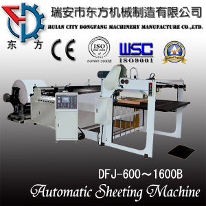 Automatic Sheeting Machine (DFJ600-1600B Type) pictures & photos