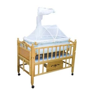 Safety Standard New Design Wooden Baby Crib (wj278335) pictures & photos