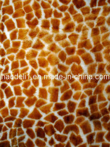 Giraffe Plush Fleece Fabric