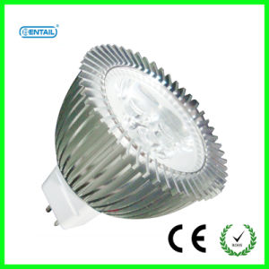 3*1W High Power LED Spotlight with CE/RoHS Mark (BTMR16-WD058)
