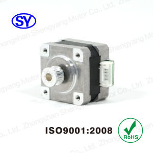 1.8deg NEMA14 (35 MM) Hybrid Stepper Electrical Motor (35BYGH219-B-12D14) pictures & photos