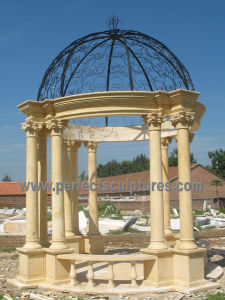 Stone Marble Garden Gazebo Tent for Outdoor Furniture (GR068) pictures & photos