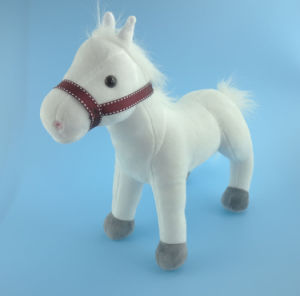 Kids Toy White Stuffed Pony Toy pictures & photos