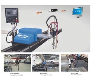 Znc 2100 CNC Cutting Machine with Moveable Arm pictures & photos
