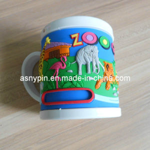 Zoo Park Theme 3D Embossing Animal Mug Cup for Kids pictures & photos