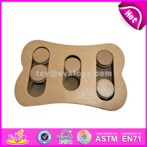 Specially Design Dog Training Treats Wooden Dog Puzzle Toys Best Pet Interactive Seek Wooden Dog Puzzle Toys W06f034 pictures & photos