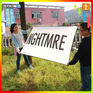 Street Decoration Flying Fabric Flag Advertising Banner pictures & photos