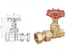 Water Meter Gate Valve pictures & photos