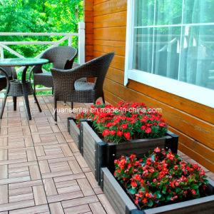 Outdoor Wood Plastic Composite WPC Flowerpot (YZS14038A-90)