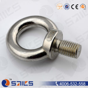 Stainless Steel DIN580 Forged Eye Bolt pictures & photos