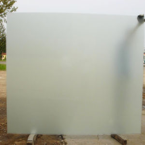 6mm 8mm 10mm Frosted or Sandblasted Glass Bathroom Door pictures & photos