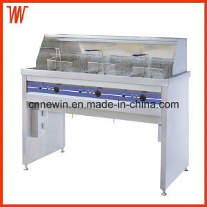 58+58+58L Electric Chips Deep Fryer Industrial pictures & photos