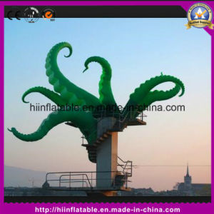 LED Light Decoration Inflatable Octopus for Party Decor