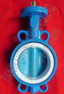 Wafer Butterfly Valve Without Pin Dn100 Multi Drilling (D71X-10/16)