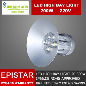 Epistar Good Quality 200W Industrial LED High Bay Lights Ce LVD EMC RoHS Aprroved (CS-JC-200) pictures & photos