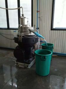 Dhy400 Automatic Discharge Olive Oil Disc Separator Machine pictures & photos