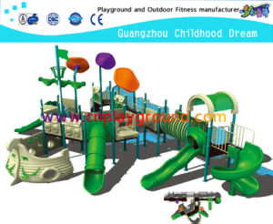 Outdoor Green Pirate Ship Amusement Park Playground Equipment (M11-02403) pictures & photos