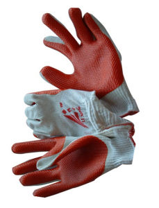 13G Nylon Nitrile Coated Labor Safety Gloves / Industrial Glove pictures & photos