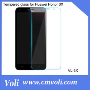 Tempered Glass Film Screen Protector for Huawei Honor 3X pictures & photos