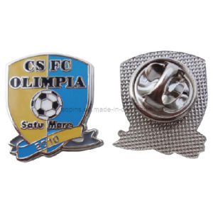 Good Quality Nickel Metal Imitation Cloisonne Lapel Pin Emblem (badge-094) pictures & photos